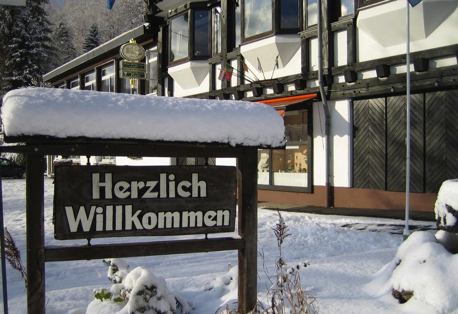 Landhotel Weinhaus Treis, Willkommen