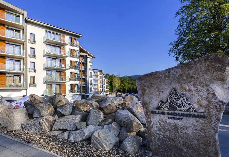 Blue Mountain Resort, Willkommen