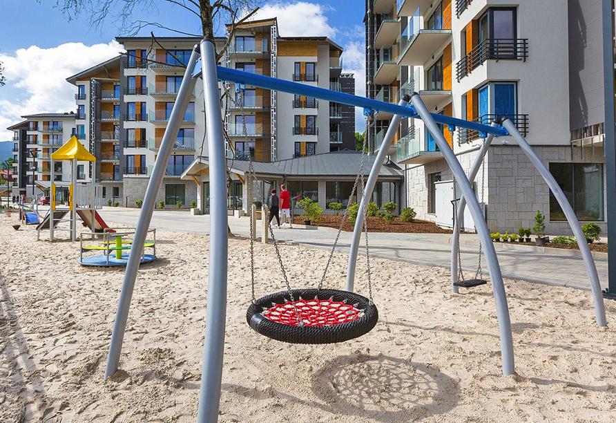 Blue Mountain Resort, Spielplatz