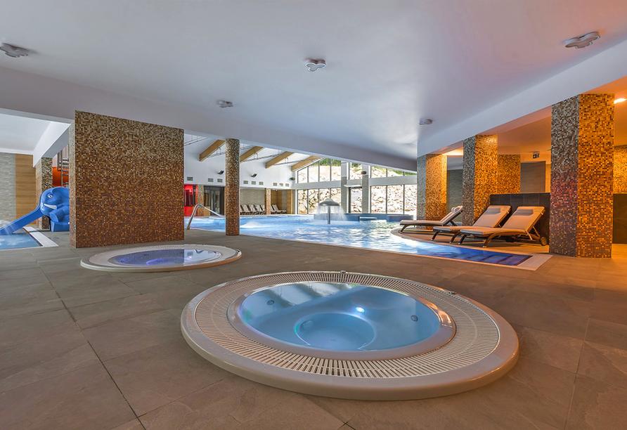 Blue Mountain Resort, Whirlpool
