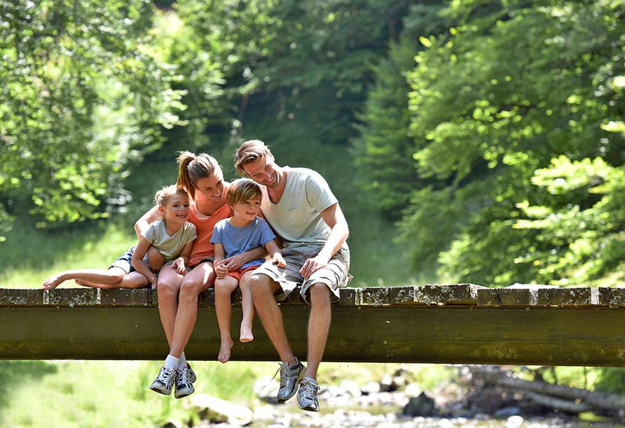 Blue Mountain Resort, Familie