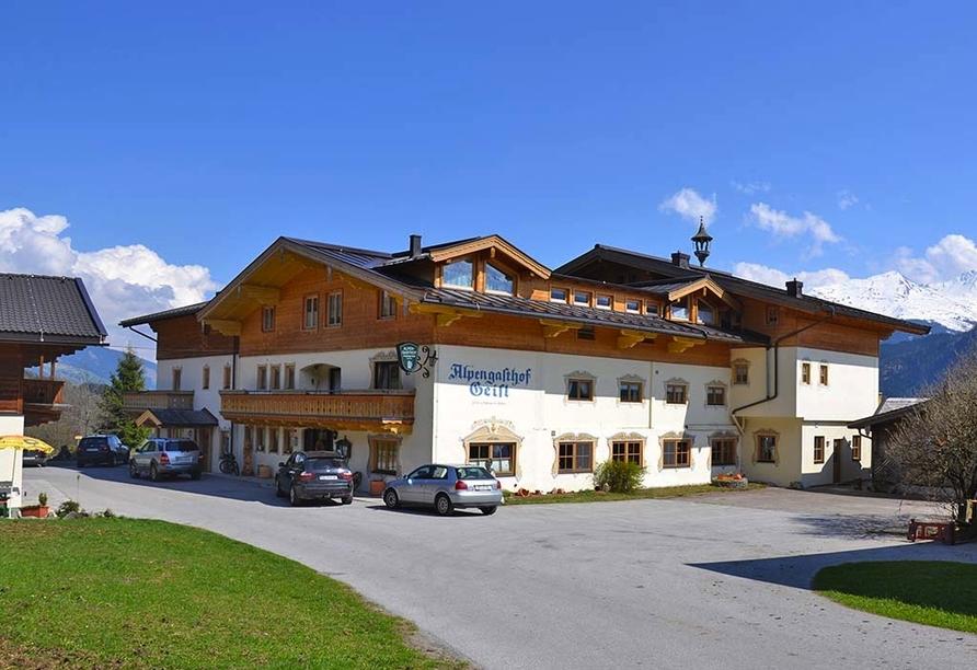 Alpengasthof Geisl in Bramberg am Wildkogel, Außenansicht