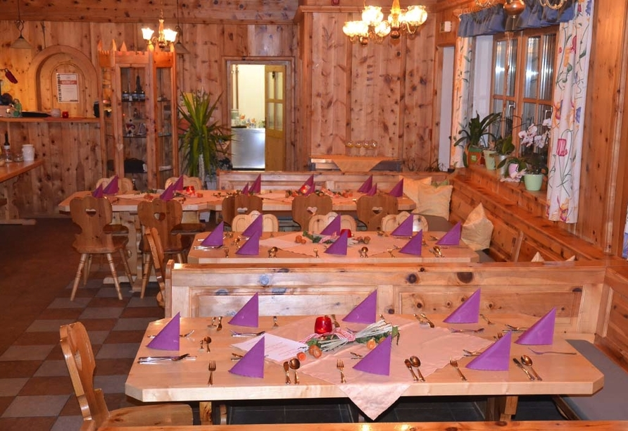 Alpengasthof Geisl in Bramberg am Wildkogel, Restaurant