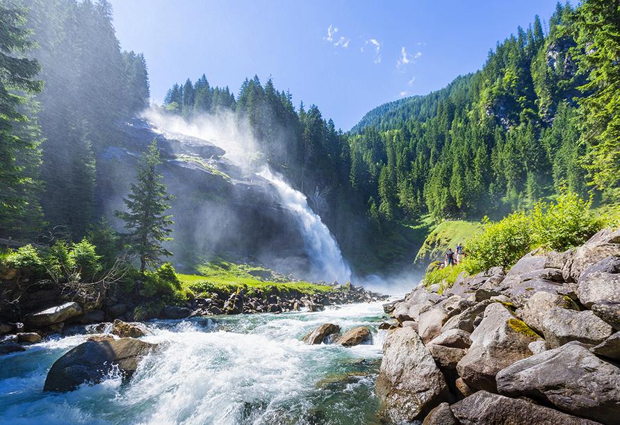 Alpengasthof Geisl in Bramberg am Wildkogel, Krimmler Wasserfälle
