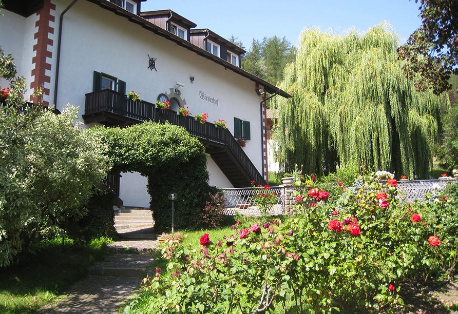 Naturhotel Wieserhof in Ritten in Südtirol, Außenansicht