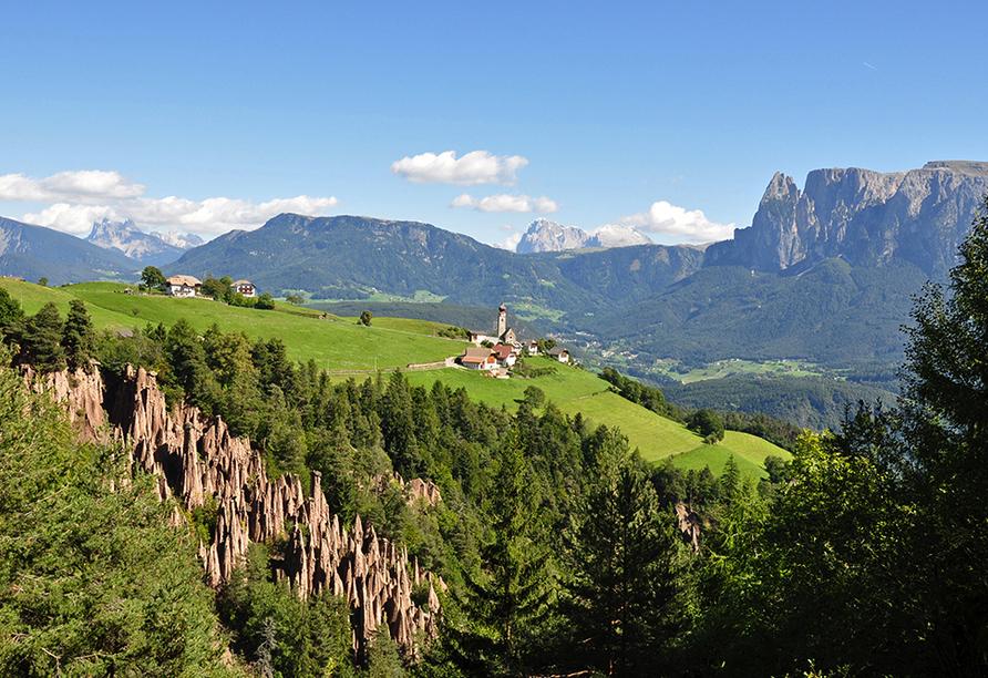 Naturhotel Wieserhof in Ritten in Südtirol, Naturpanorama
