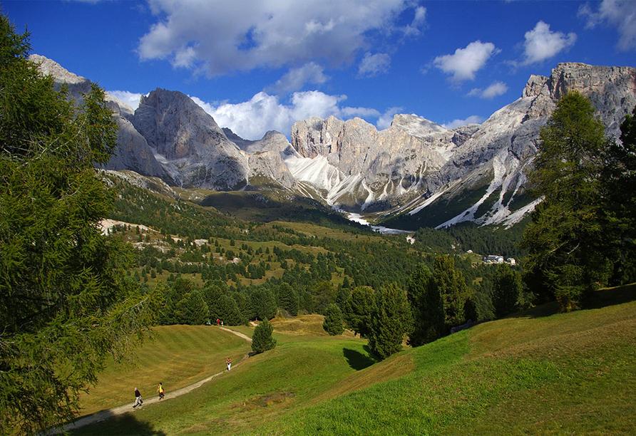 Naturhotel Wieserhof in Ritten in Südtirol, Wandern