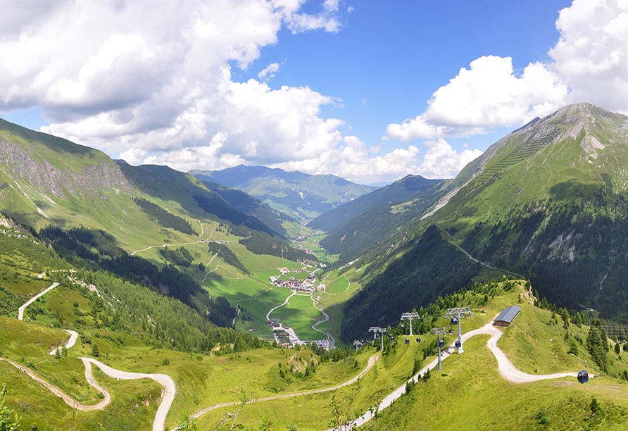 Der Siegeler in Mayrhofen im Zillertal, Panorama