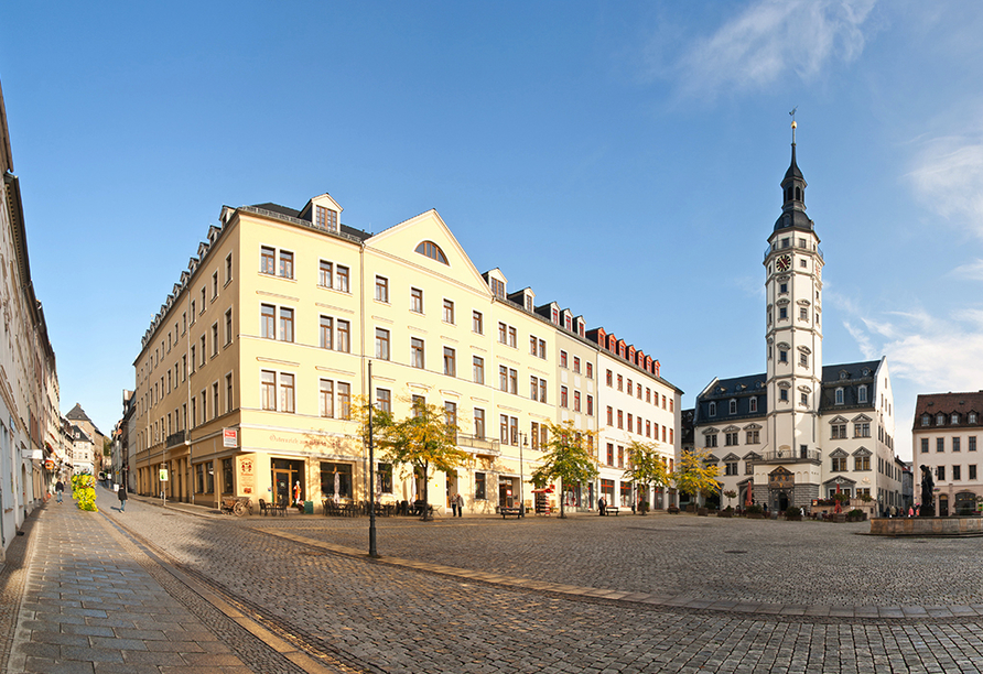 The Royal Inn Regent Gera in Thüringen, Marktplatz