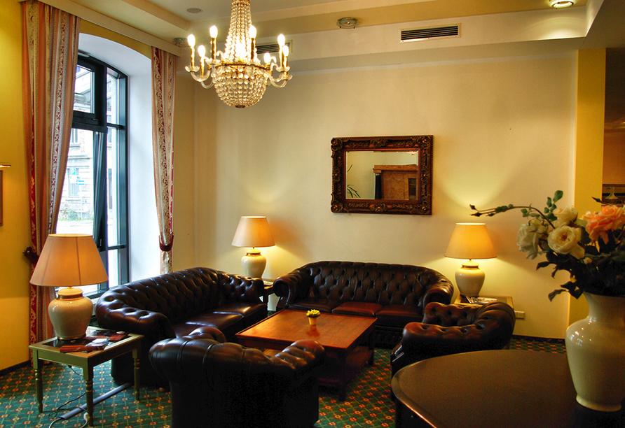 The Royal Inn Regent Gera in Thüringen, Lobby