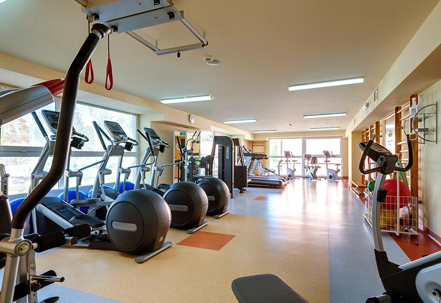 Akces Medical FIT&SPA, Kolberger Deep, Polnische Ostsee, Fitnessbereich