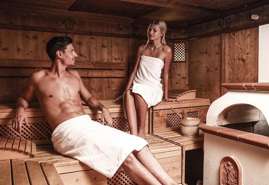 Alpenromantik-Hotel Wirler Hof in Galtür, Sauna