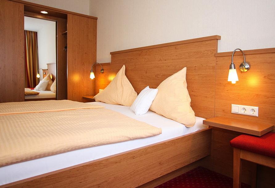 Hotel Pistono in Dieblich an der Mosel Zimmerbeispiel