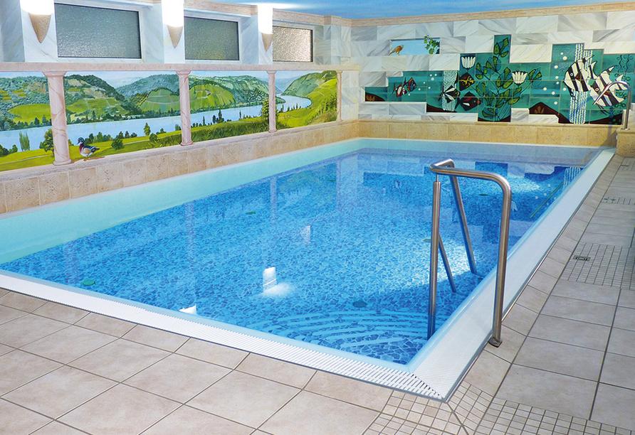 Hotel Pistono in Dieblich an der Mosel Badelandschaft