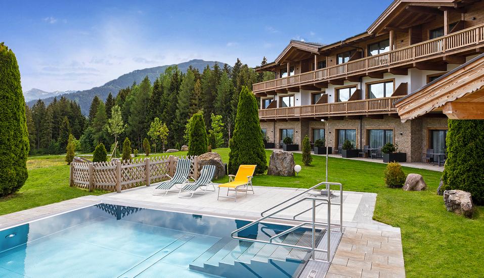 Hotel Leamwirt in Hopfgarten im Brixental, Außenpool