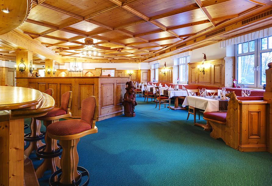 Ferien Hotel Fläming in Niemegk, Restaurant