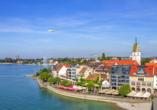 Bodensee Radreise, Friedrichshafen