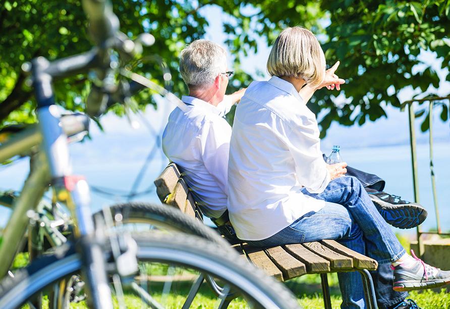 Bodensee Radreise, Pause