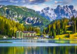 Grand Hotel Misurina Südtirol, Misurinasee