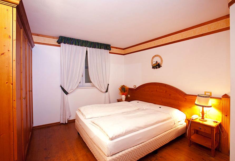 Grand Hotel Misurina Südtirol, Zimmerbeispiel Standard