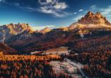 Grand Hotel Misurina Südtirol, National Park Tre Cime di Lavaredo