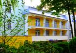 Erholungszentrum Zorza in Kolberg, Außenansicht