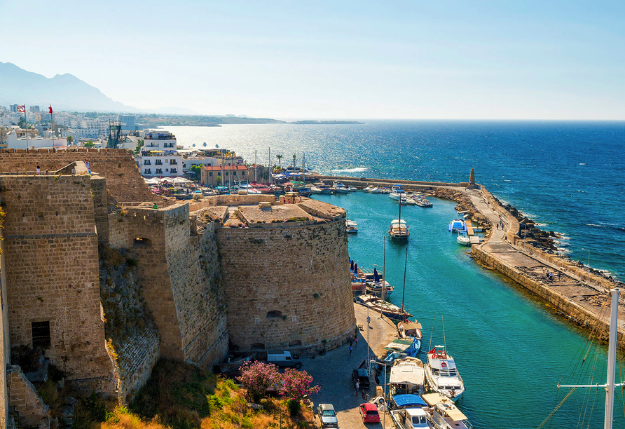 Entdeckerreise durch Nordzypern, Girne (Kyrenia)