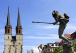 Hotel Himmelsscheibe & Schloss Nebra, Marktkirche Halle