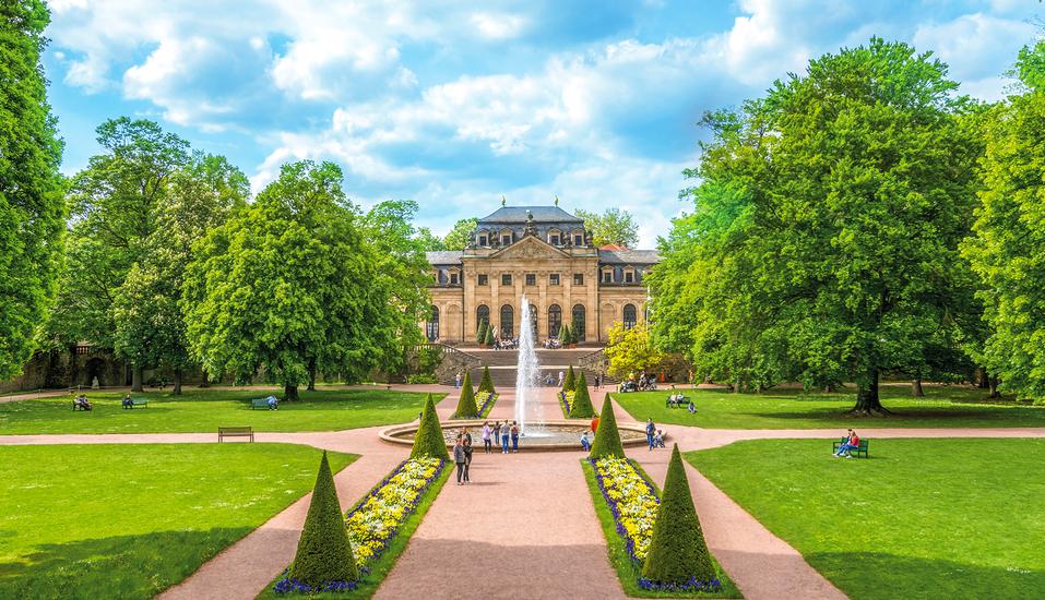 Hotel Zum Ritter in Fulda, Parkanlage