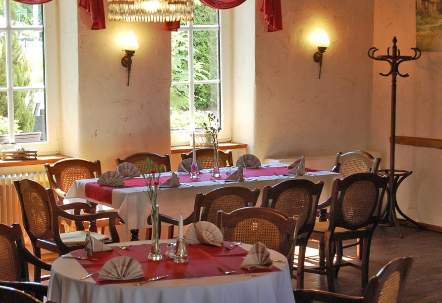 Hotel Bibermühle, Bad Bibra, Burgenlandkreis, Sachsen-Anhalte, Restaurant