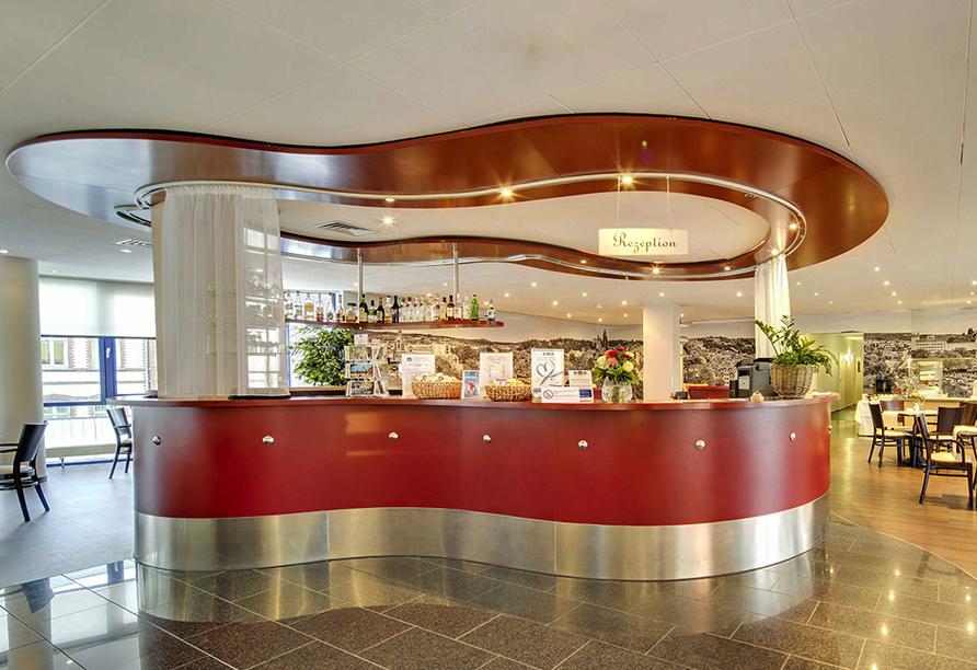 Best Western Hotel Wetzlar, Hessen, Rezeption
