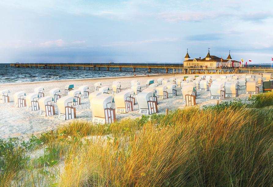 Hotel Pension Zum Himmel in Rubenow an der Ostsee Ahlbeck