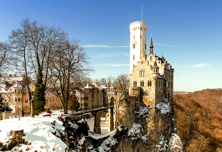 City Hotel Reutlingen in der Schwäbischen Alb, Schloss Lichtenstein