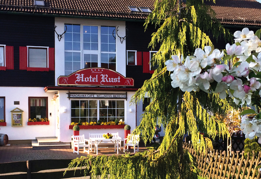 Harmonie Hotel Rust in Braunlage-Hohegeiß im Harz Außenansicht