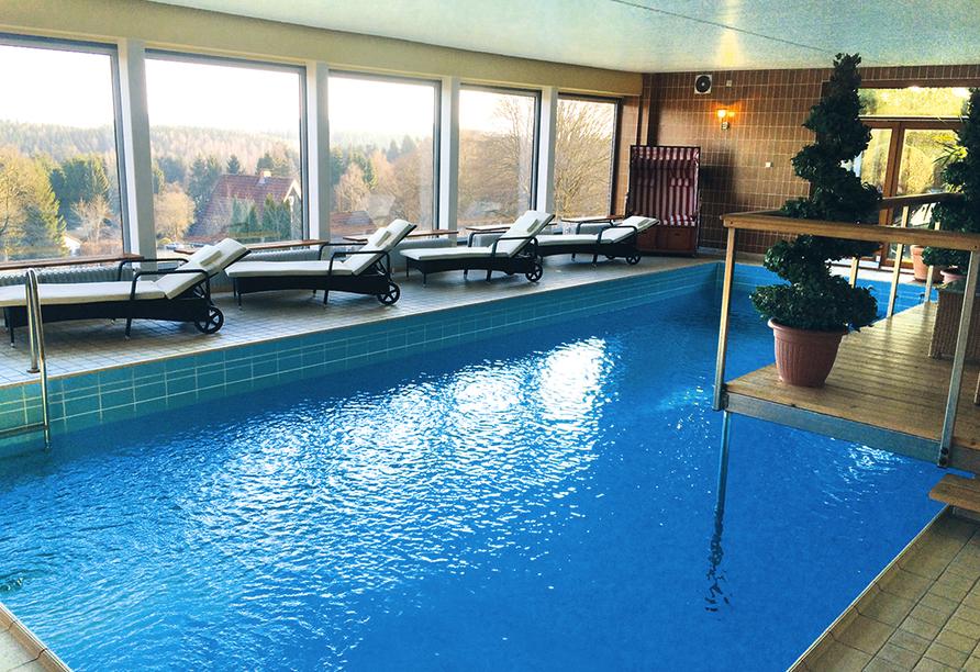 Harmonie Hotel Rust in Braunlage-Hohegeiß im Harz Hallenbad