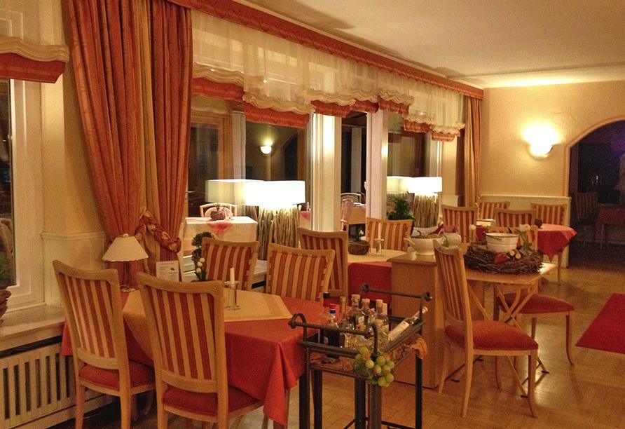 Harmonie Hotel Rust in Braunlage-Hohegeiß im Harz Restaurant