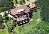 Harmonie Hotel Rust in Braunlage-Hohegeiß im Harz Luftansicht