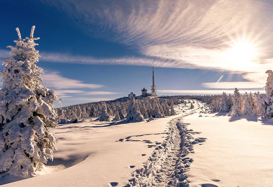 Harmonie Hotel Rust in Braunlage-Hohegeiß im Harz Winter
