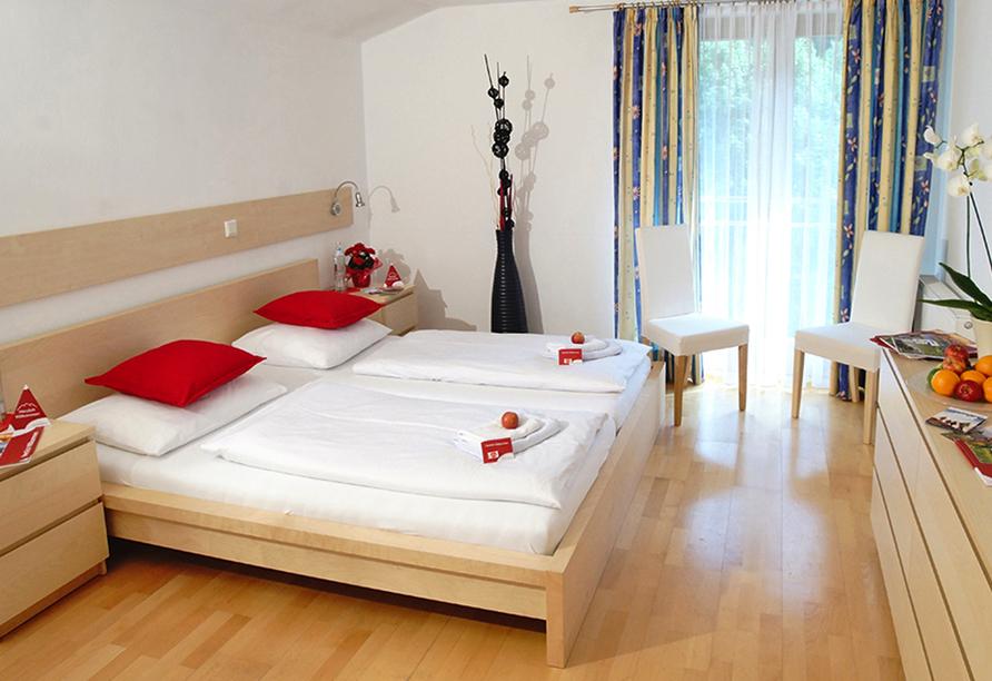 First Mountain Hotel Montafon in Vorarlberg Österreich, Zimmer