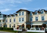 Hotel Koos, Putbus, Rügen, Außenansicht