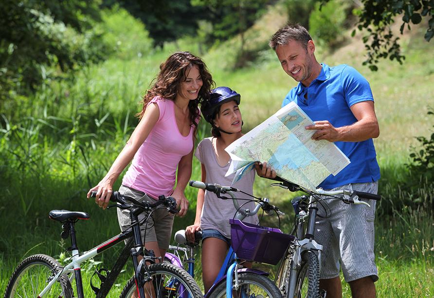 Wyndham Garden Gummersbach, Radfahren