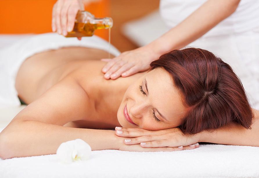 Hotel Kristall-Saphir in Saas-Almagell, Massage
