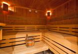 Hotel Kristall-Saphir in Saas-Almagell, Sauna
