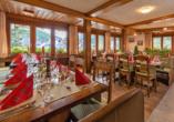 Hotel Kristall-Saphir in Saas-Almagell, Restaurant