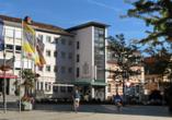 Hotel Danner in Rheinfelden, Außenansicht