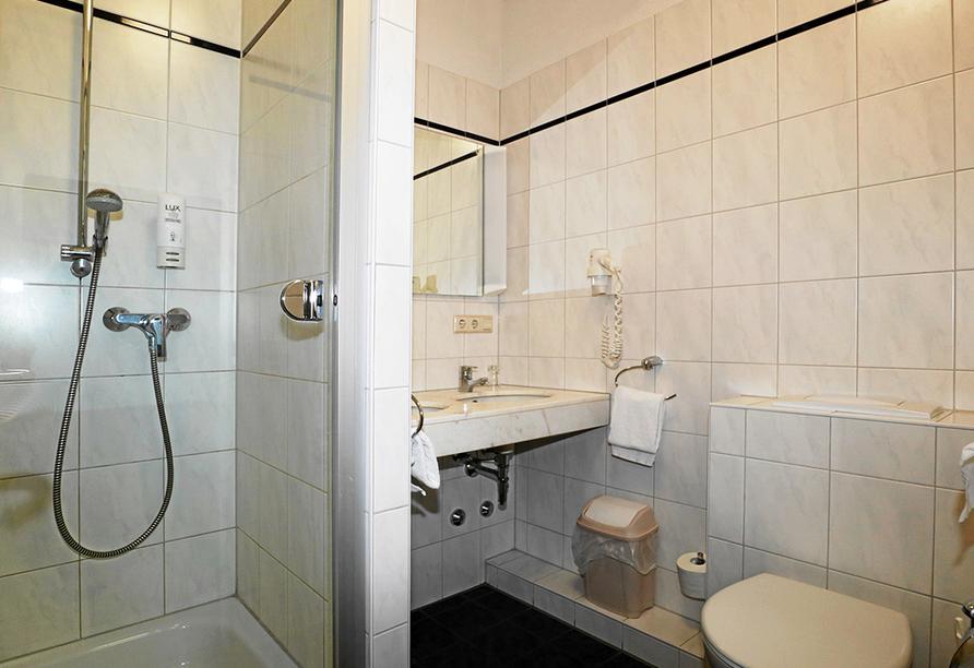 Hotel Danner in Rheinfelden, Badezimmerbeispiel