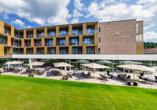 Hotel König Albert in Bad Elster, Terrasse