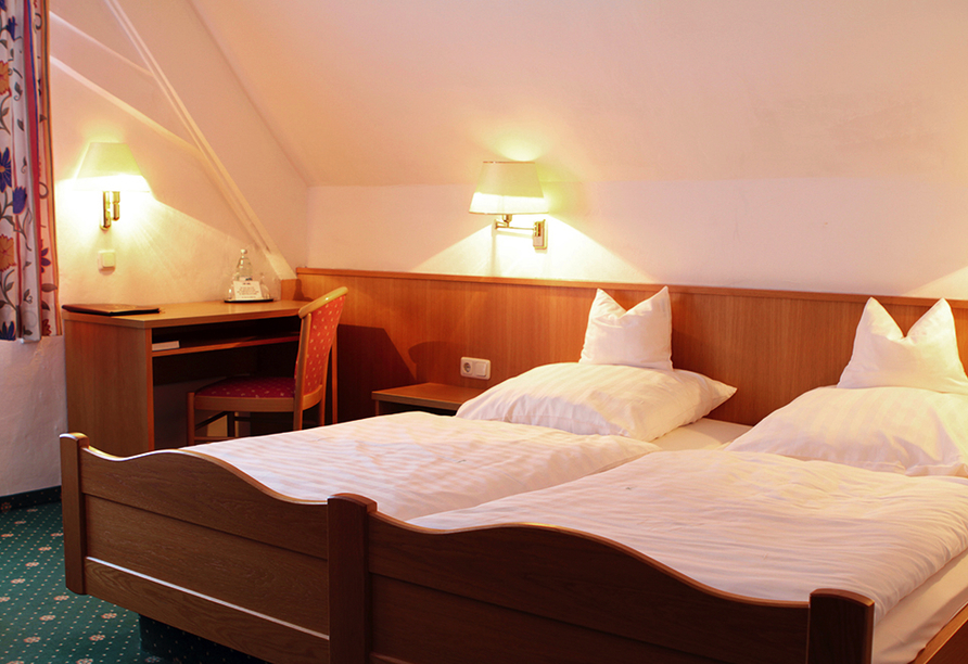 Hotel Diem in Krumbach in Mittelschwaben, Zimmerbeispiel