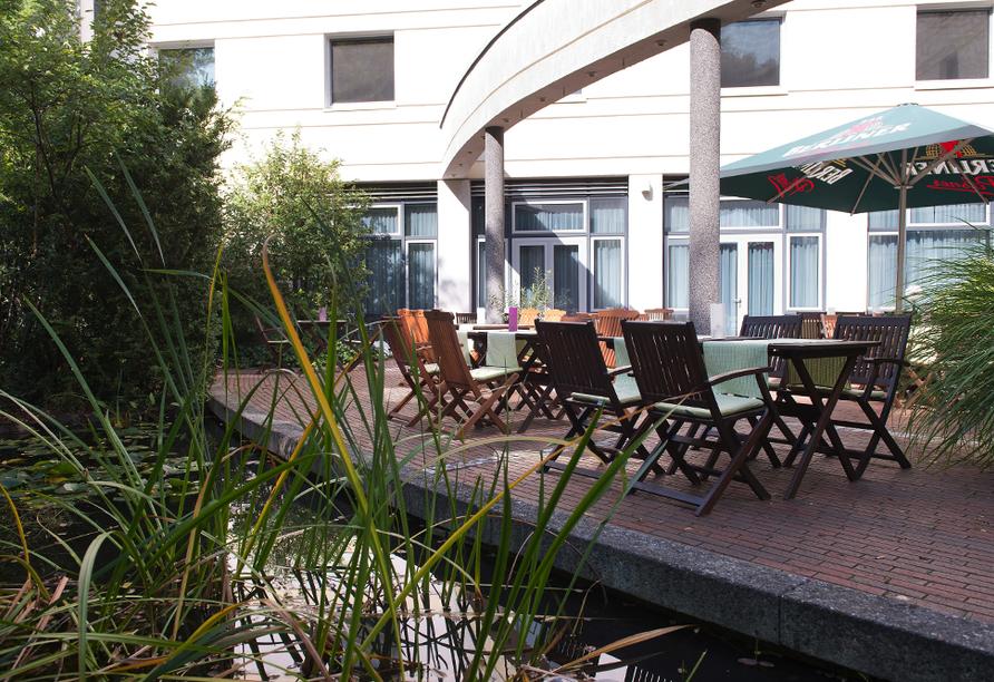 Wyndham Garden Hennigsdorf Berlin in Henningsdorf bei Berlin, Terrasse