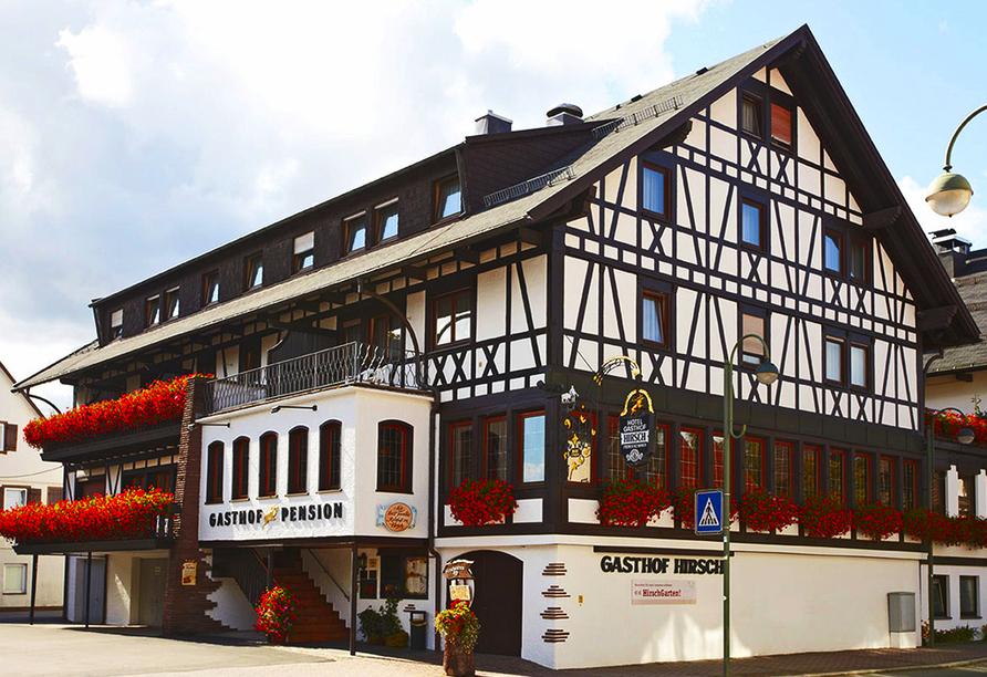Landgasthof Hirsch in Lossburg, Außenansicht